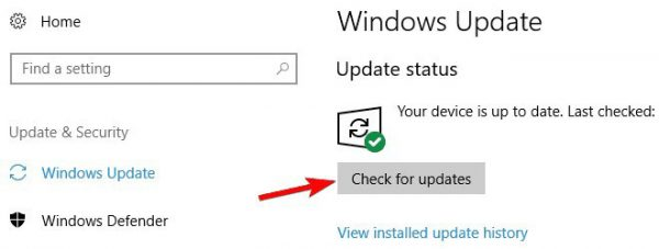 Uninstall updates.