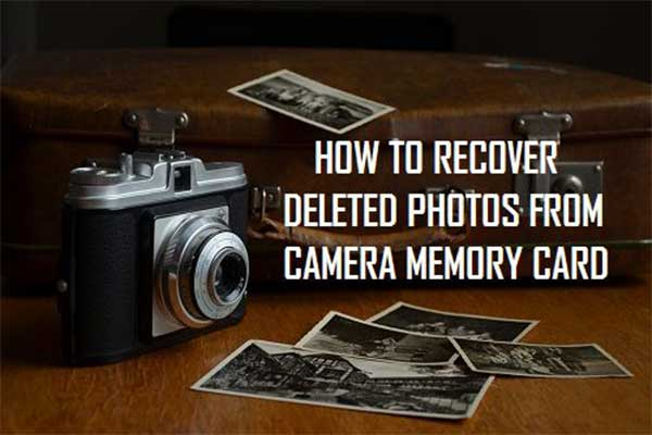 Best Ways to Recover Deleted Photos from Digital Camera Effectively