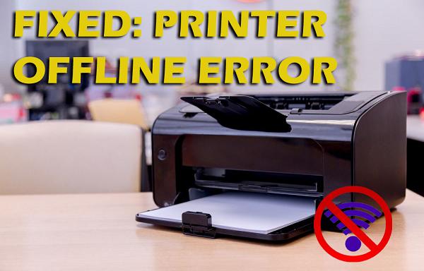 [Best Guide] How To Fix Printer Offline Error On Windows 10?