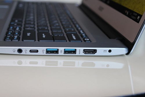Use USB port to Connect your Mobile