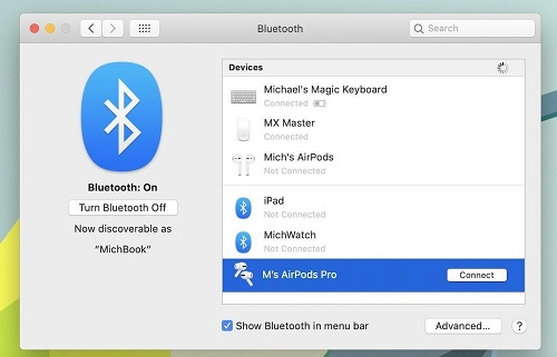 Put your AirPods into Bluetooth Pairing Mode