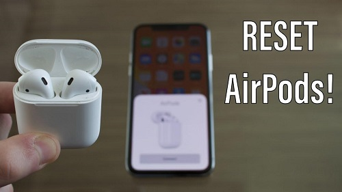 Resetting the Airpods
